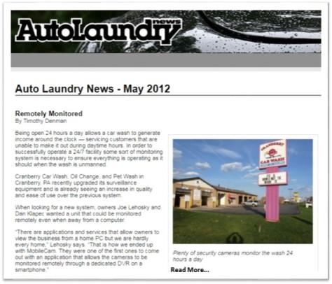 Auto Laundry News